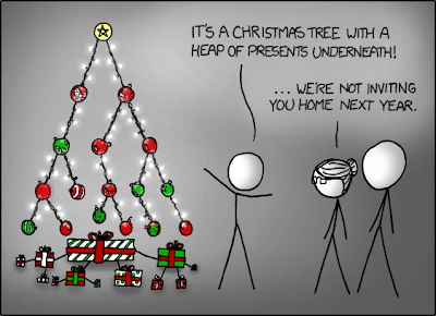 XKCD's Christmas Tree / Árvore de Natal do XKCD