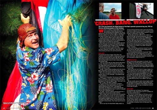 Paramotor Magazine: 'Crash, Bang, Wallop'   Ed Ewing