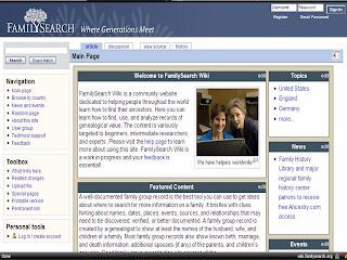 Hispanic Genealogy 101: FamilySearch Wiki Update