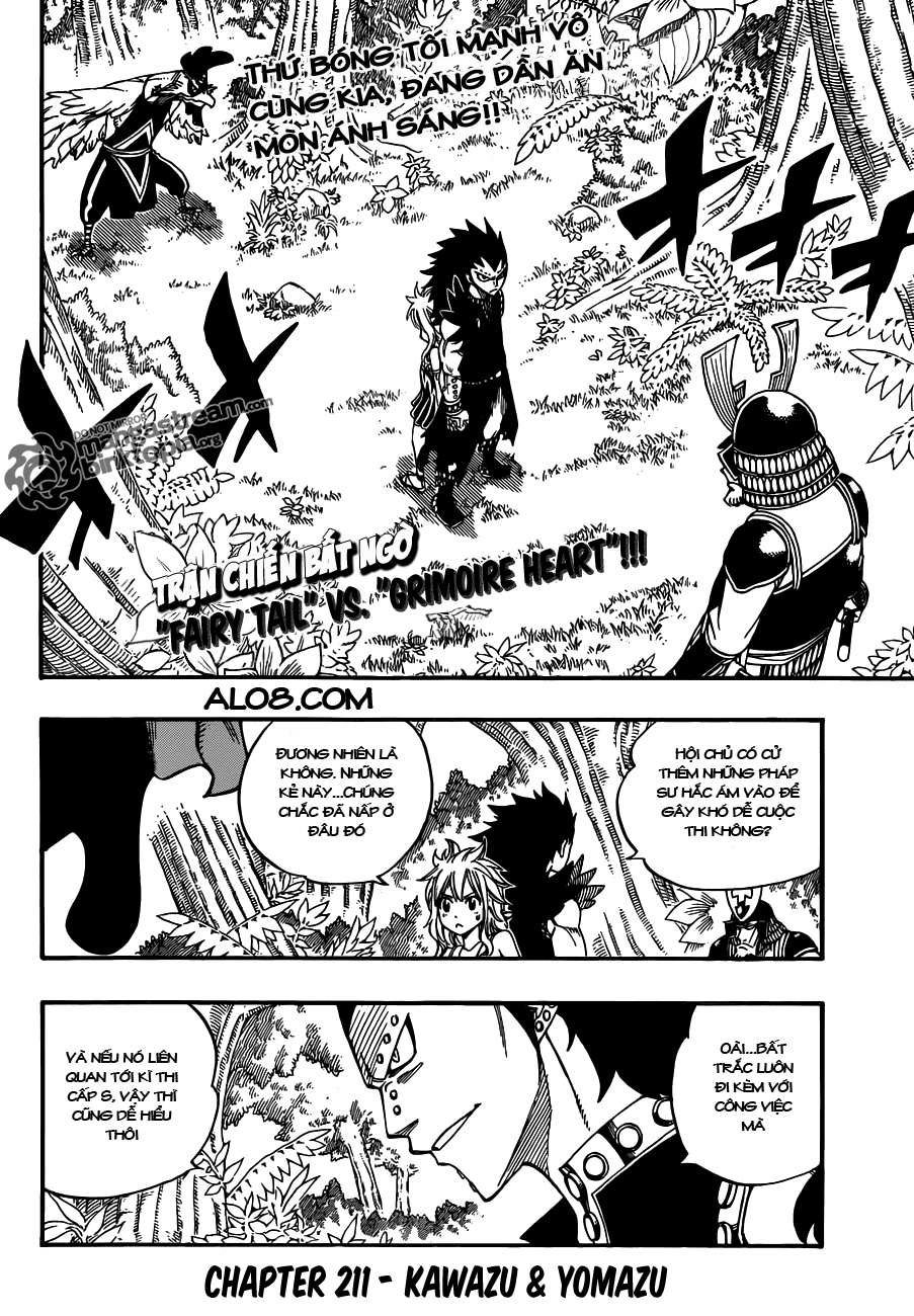 Fairy Tail Chap 211