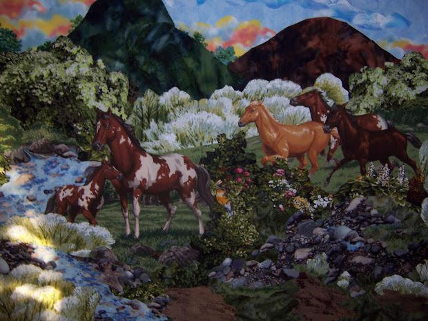 Horse Quilt Designs