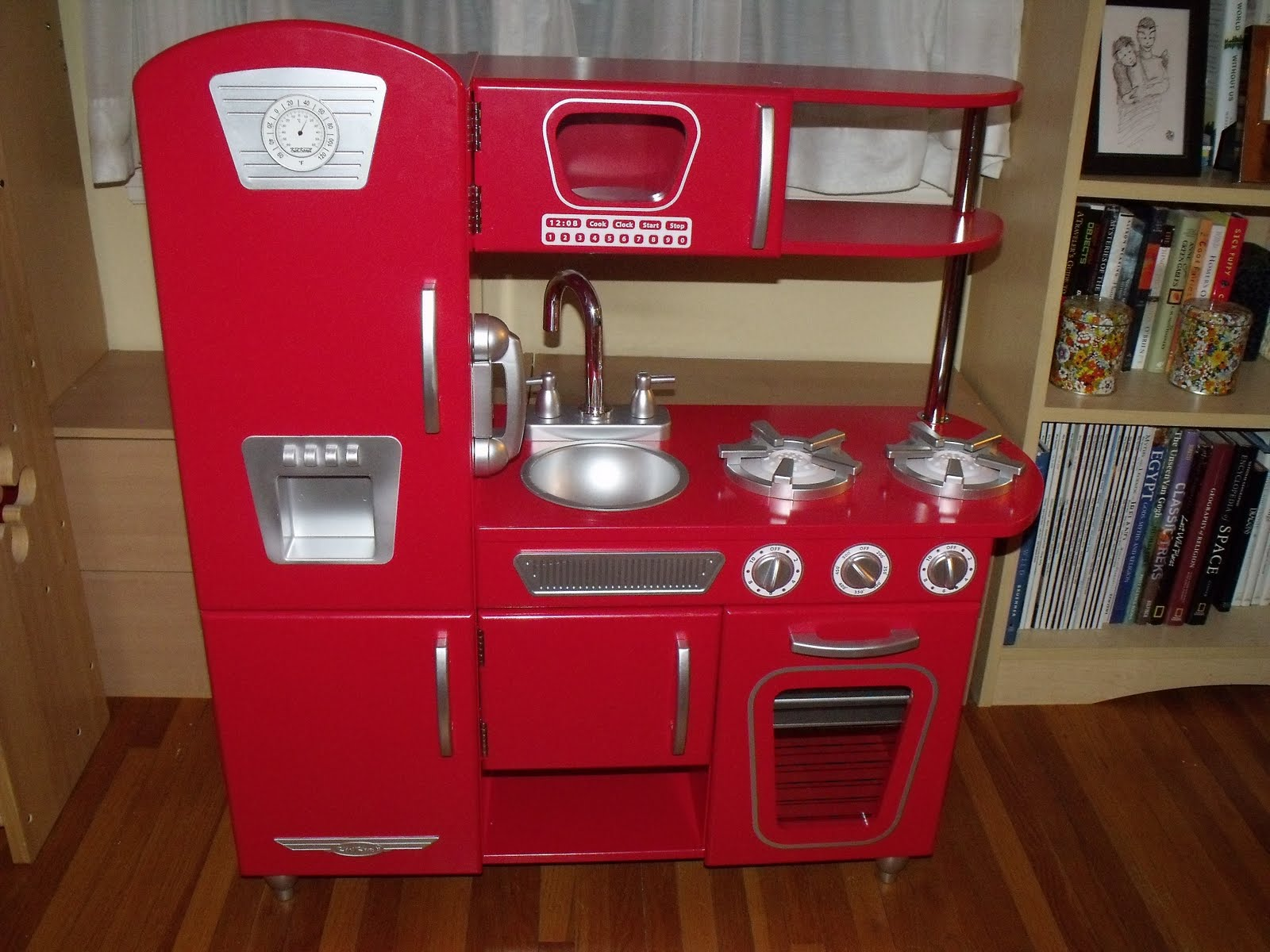 velocibadgergirl reviews: review: kidkraft vintage kitchen