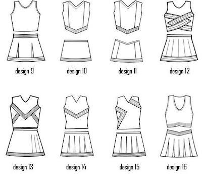rock.A.cheer: Cheer Uniform Designs