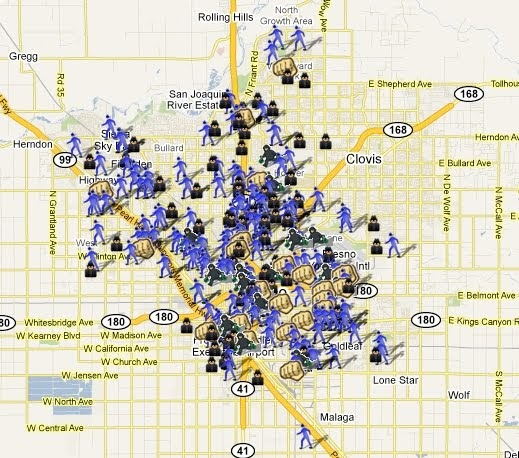 Spotcrime Is Mapping Crimes In Fresno California