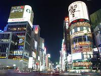 Una imagen del barrio de Ginza, en Tokio