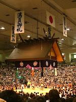 Imagen del dojo del Kokujikan, donde se celebran los combates de sumo