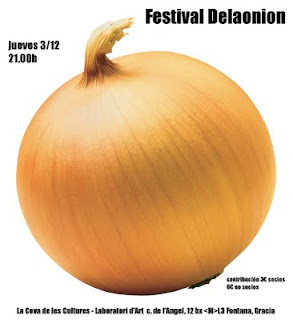 Recital Delaonion 3 de diciembre de 2009