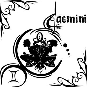 700ccb3ac799b Female Tattoo With Gemini Tattoos Design - Art of tattoos