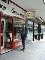 Mida's chess corner: Chess shopping in London