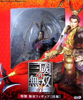 katsuden s collect emall sangokumusou 4 lu bu statue