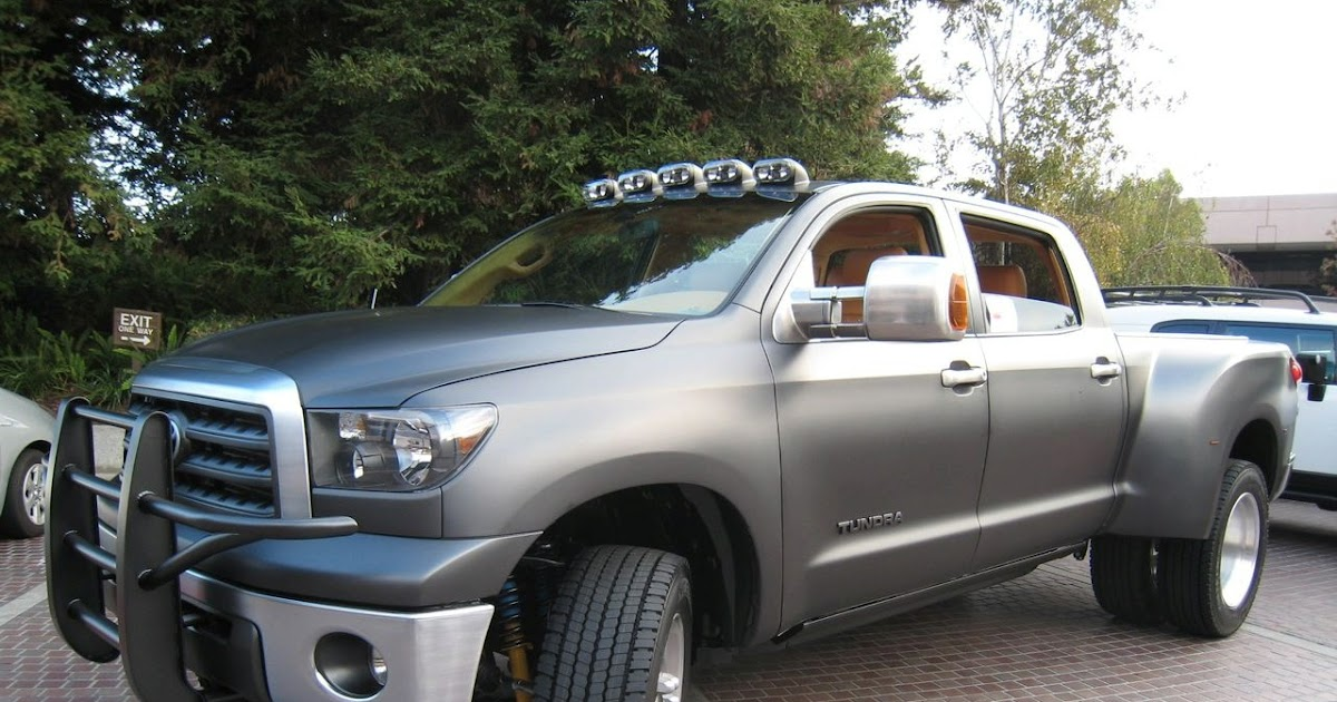 Tacoma Double Cab >> SEMA 2008: Toyota Tundra Diesel Dually Project Truck