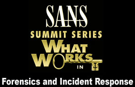 TaoSecurity: SANS Forensics and Incident Response 2009 Summit Round-Up