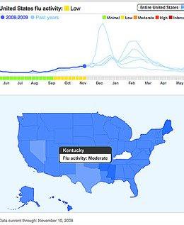 Grippe Karte.1000 Kleine Dinge In Amerika Genial Google Grippe Karte
