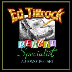 Ed Tillrock Automotive Art
