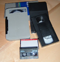 U-Matic,VHS Cassette and Consumer brand Analog Cassette