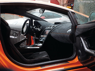 Gallardo Superleggera Interior