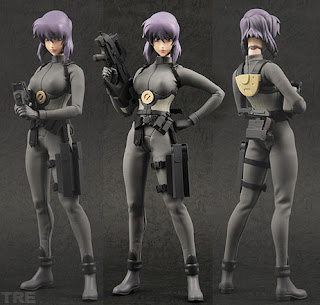 Medicom S Motoko Kusanagi 1 6 Rah Figure From Ghost In The Shell S A C Solid State Society