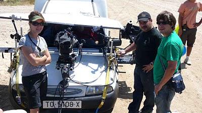 foto de rodaje con car mount