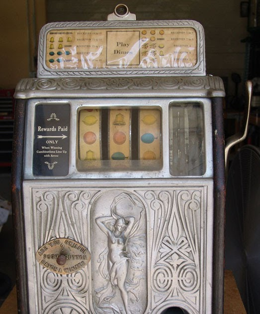 Antique Slot Machine History Amp Commentary Blog Was The