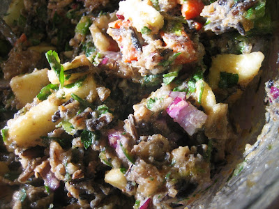 Chef Tess Bakeresse Apple Sausage And Wild Rice Stuffed