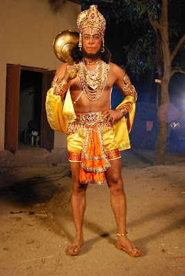 VINDU AS LORD HANUMAN IN MARUTI MERA DOST