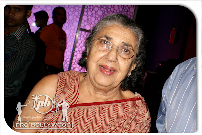 Ajeeb Daasta Hain Ye - Actress Shammi Aunty at STOP movie / film re-release at Cinemax theatre Bombay