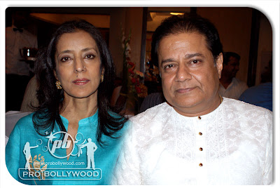 Mrs. & Mr. ANOOP JALOTA at actress Sambhavi Biswajeet's SORRY MADAM press meet