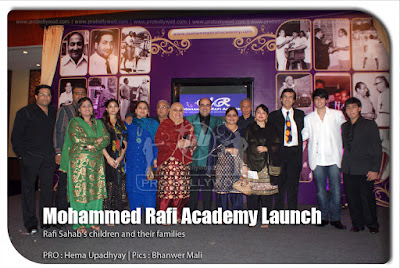 Children and family of Mohammed Rafi Academy