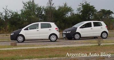 VW Fox camuflado en Argentina 1
