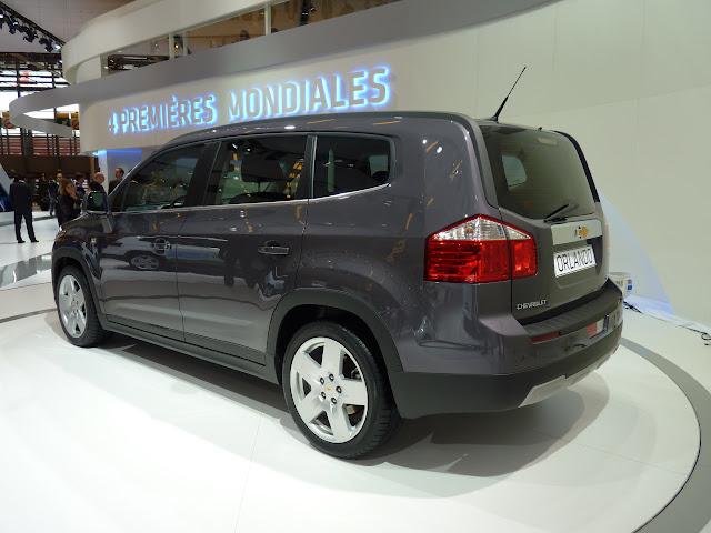 Salón de París 2010: Chevrolet Orlando 2