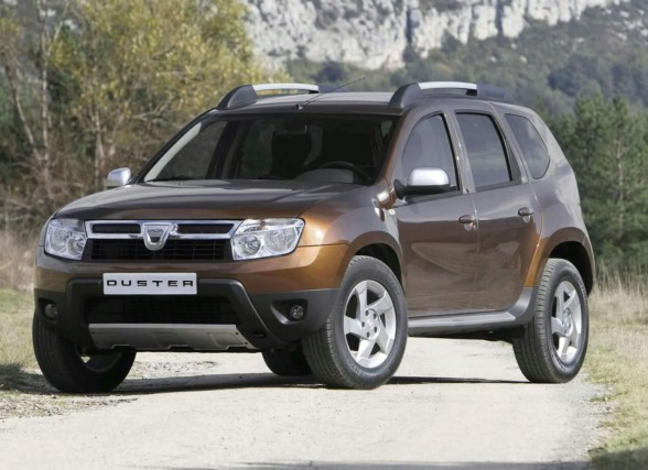 2010 Dacia Duster Front Angle View