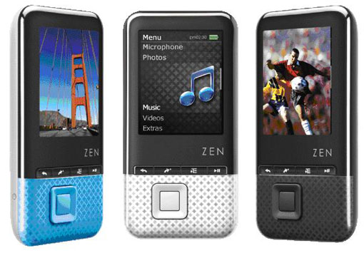The Creative ZEN Style Series Is Currently Available In 4GB 8GB And 16GB Of Storage Space