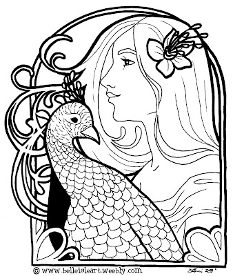 fine art coloring pages lori lee thomas fine art illustration blog my love of