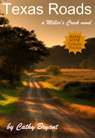 [Giveaway] Ebook copy of Cathy Byrant's TEXAS ROADS