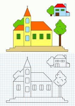 Te Cuento Un Cuento Fichas Educativas Para Aprender A Dibujar Y Pintar