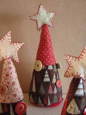 Decorated Driftwood Christmas Tree