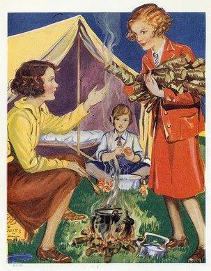 Suzy's Vintage Attic: The romance of the VW campervan ...