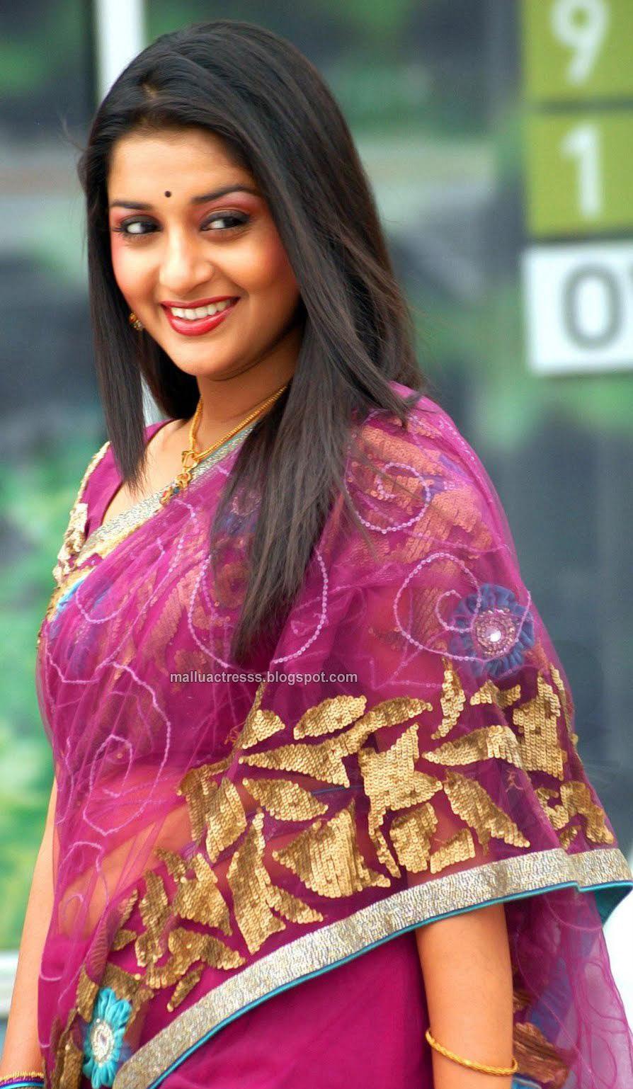 Meera Jasmin Latest Hot Saree Stills  Celebrity Kemratak -3026