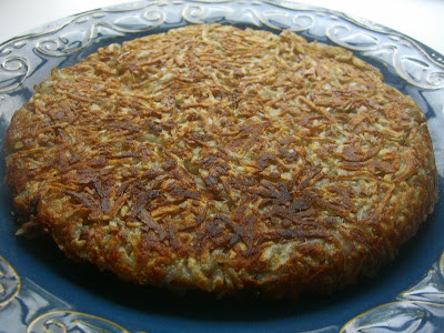 The Cutting Edge of Ordinary: Shredded Potato Cake with ...