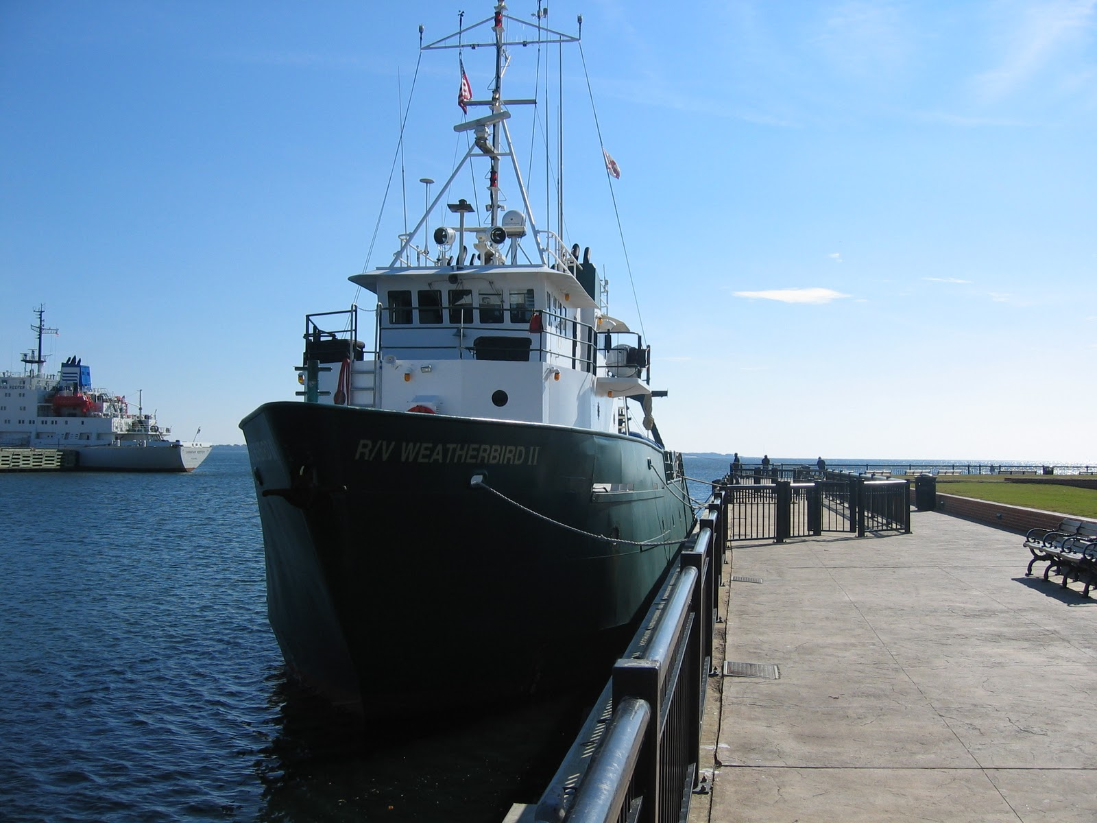 university of south florida s weatherbird ii marine research vessel