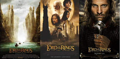 Image result for the lord of the rings trilogy movie poster