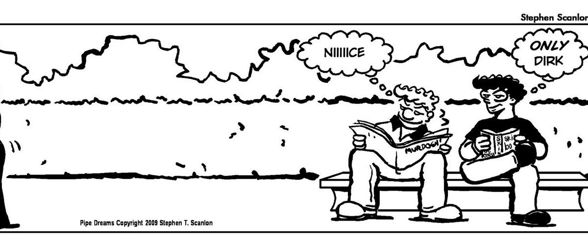 Scan's Corner: New Pipe Dreams Cartoon