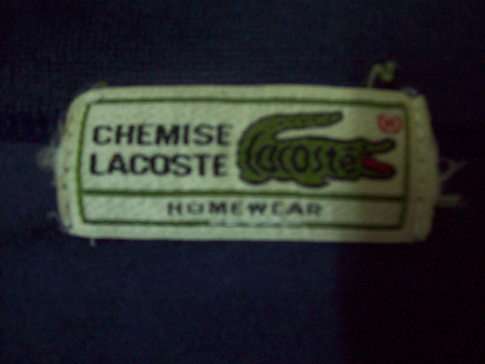 New Old Stuff Chemise Lacoste T Shirt
