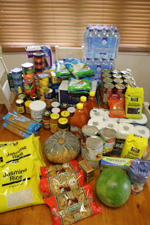 Floodbound – stocking up on supplies