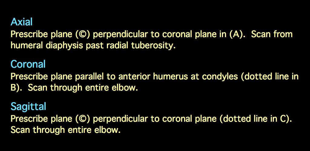 MRI BLOG: Elbow MRI