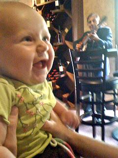 smiley baby guitar