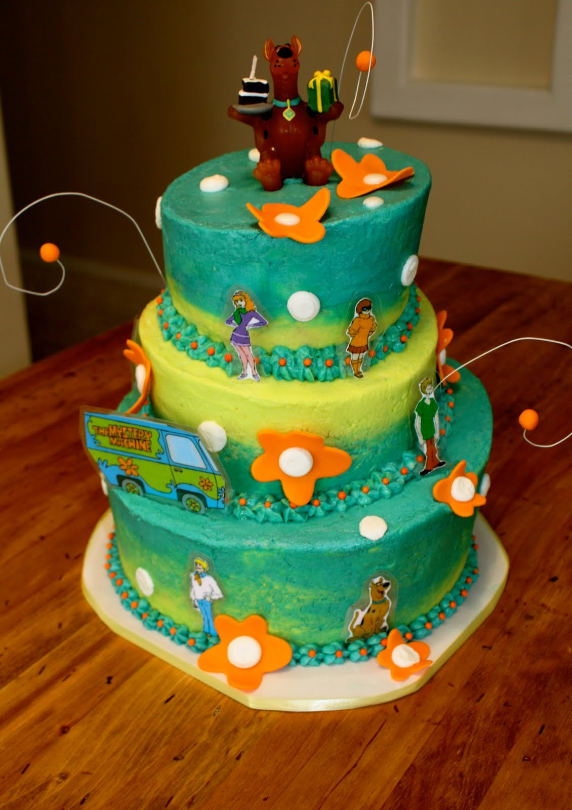 Bumble Cakes Scooby Doo Cake