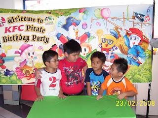 Kam Weng Kit : My Journal: A GREAT PIRATE BIRTHDAY PARTY ...