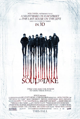 My Soul To Take Cartaz do filme