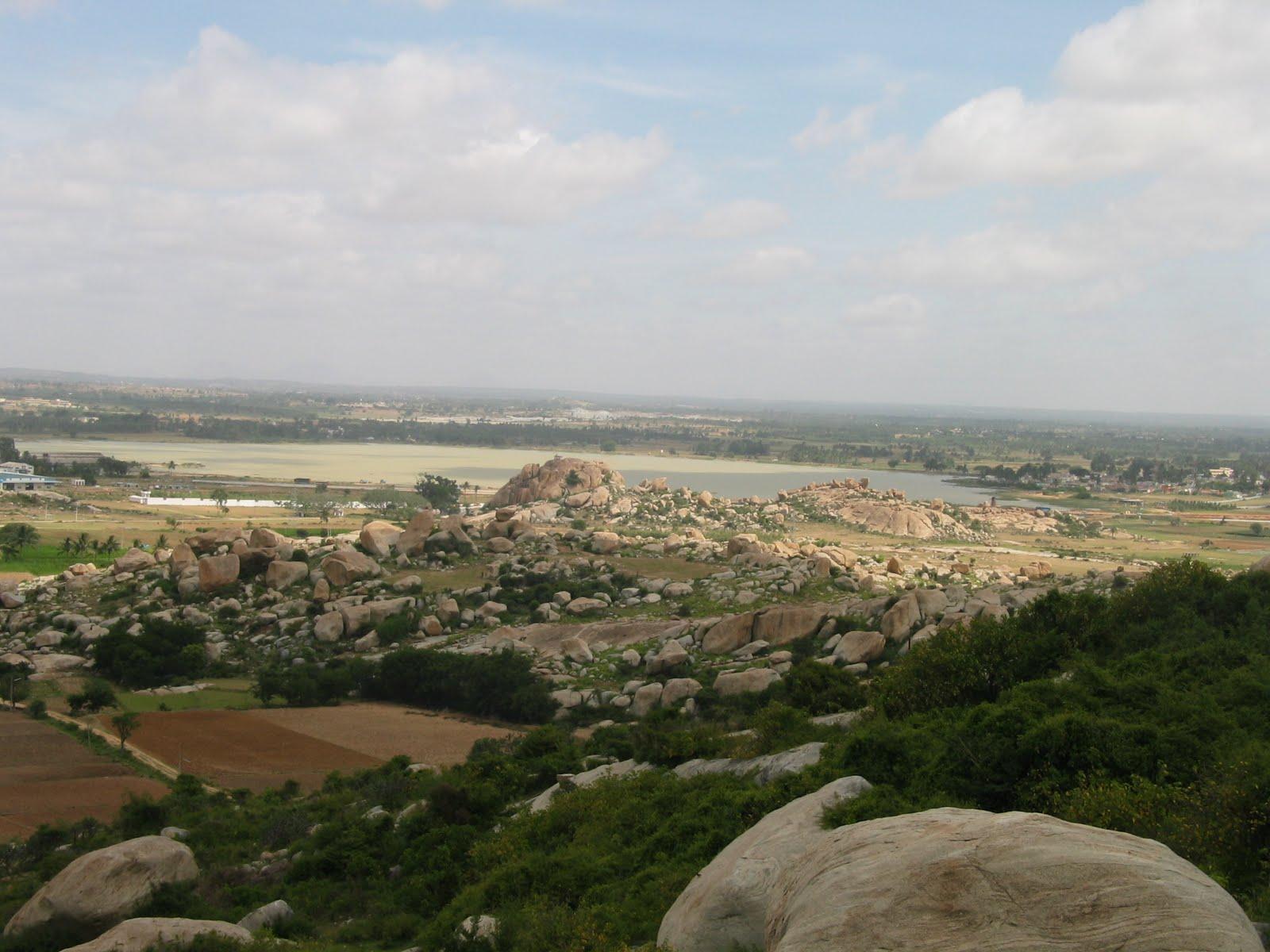 Places to Visit around Bangalore - Narsapura Betta